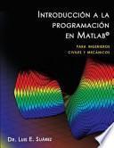libro Introducción A La Programación En Matlab
