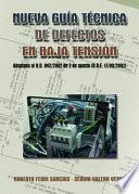 libro Nueva Guía Técnica De Defectos En Baja Tensión