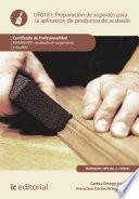 libro Preparación De Soportes Para La Aplicación De Productos De Acabado. Mamr0208