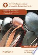 libro Reparación De Productos De Guarnicionería. Tcpf0110