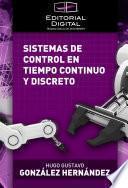 libro Sistemas De Control En Tiempo Continuo Y Discreto