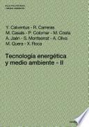 libro Tecnología Energética Y Medio Ambiente Ii