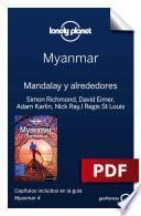 libro Myanmar 4. Mandalay Y Alrededores