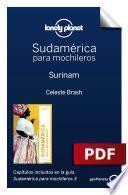 libro Sudamérica Para Mochileros 3. Surinam